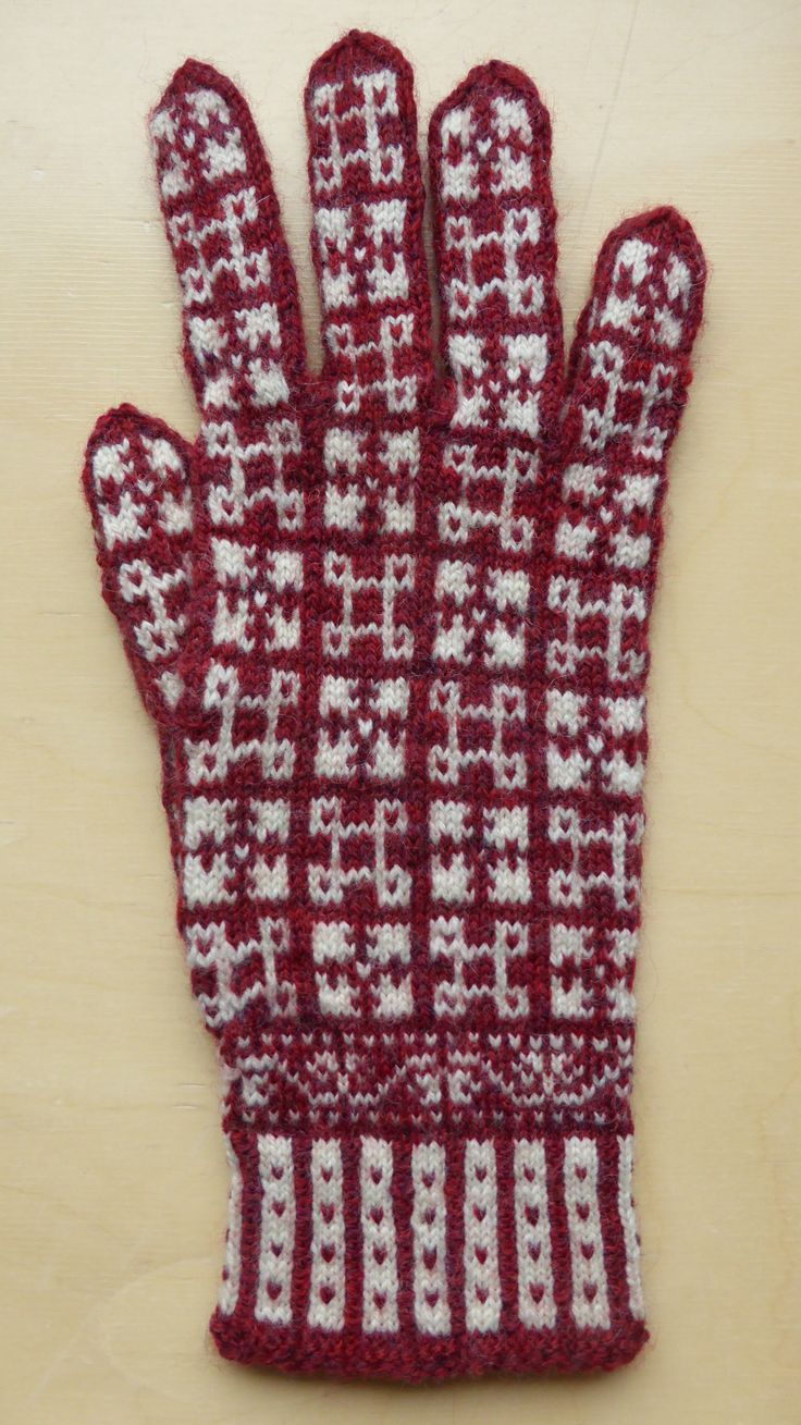 The 1805 best Knitted Mitten Patterns images on Pinterest   Gloves ...
