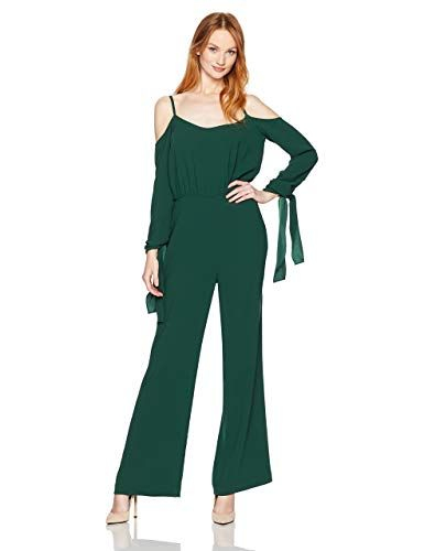 fadaea8f24f The perfect BCBGMAXAZRIA Women's Jordane Woven Cold Shoulder Jumpsuit,  online. [$212.27] newforbuy from top store