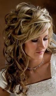 Pretty: Hair Ideas, Weddinghair, Long Hair, Beautiful, Longhair, Curls, Hair Style, Wedding Hairstyles, Curly Hair