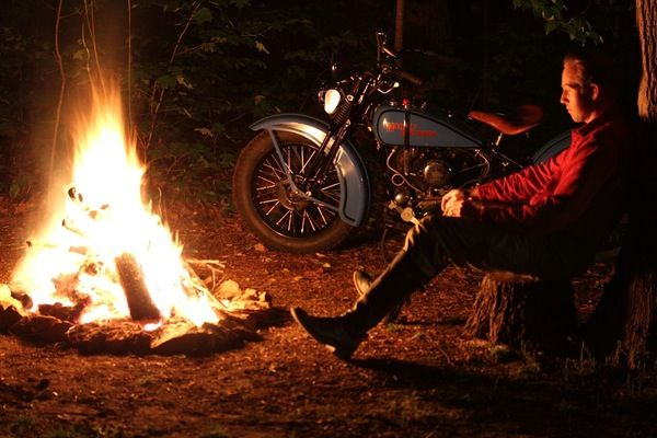 Some luggage, a tent and a few essentials will set you free to go exploring further afield on your motorcycle, even if you're new to camping.