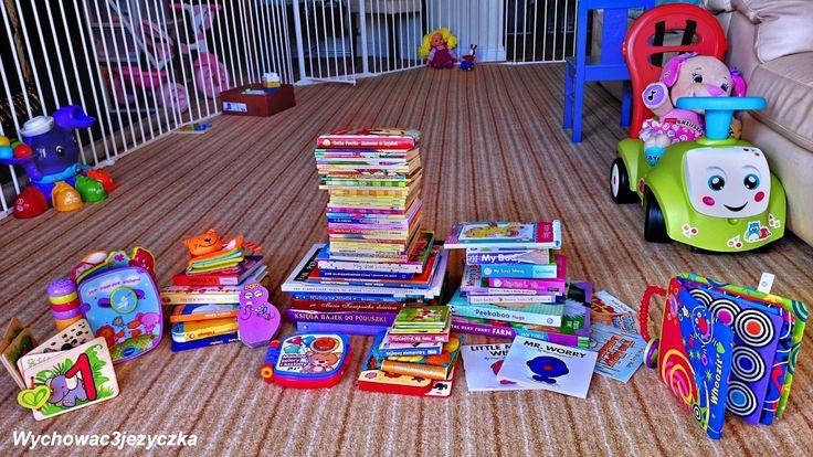 Wychować Trzyjęzyczka: Biblioteka małego człowieka - dla 4-15 miesięcznego dziecka i wzwyż