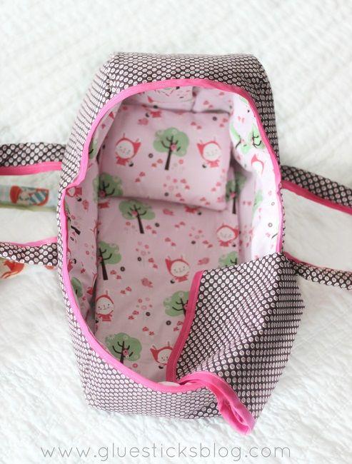 DIY Baby Doll Basket