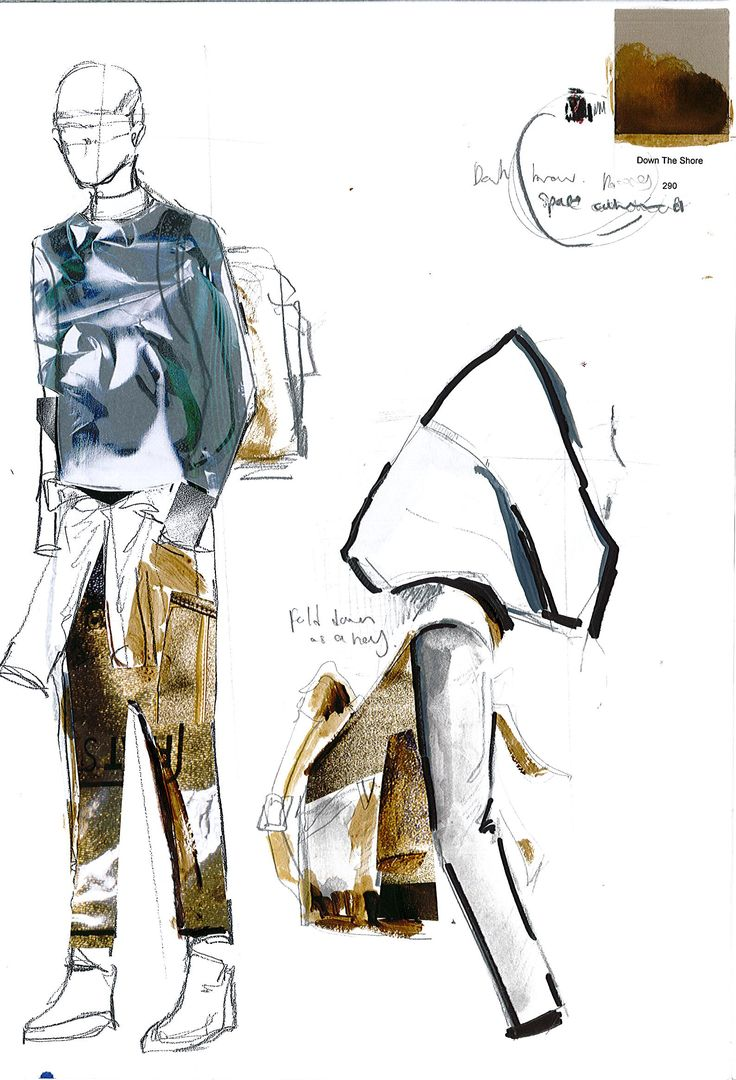 Fashion Sketchbook - fashion design development; fashion sketches; fashion portfolio // Johnson Deng
