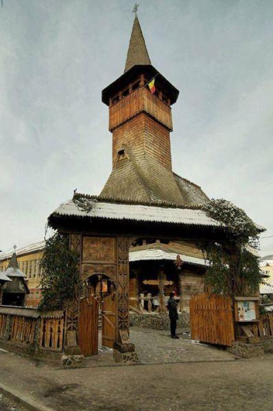 Bisericuta de lemn de pe Strada Republicii, Baia Mare Foto: Gabriel Pop Surprising Romania - Împreună promovăm frumusețile României!