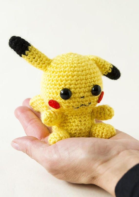 12 Free Pokemon Go Amigurumi Crochet Patterns | 808x570