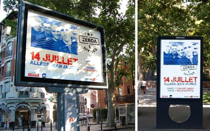 14 juillet 2012, mairie de Toulouse / Zebda