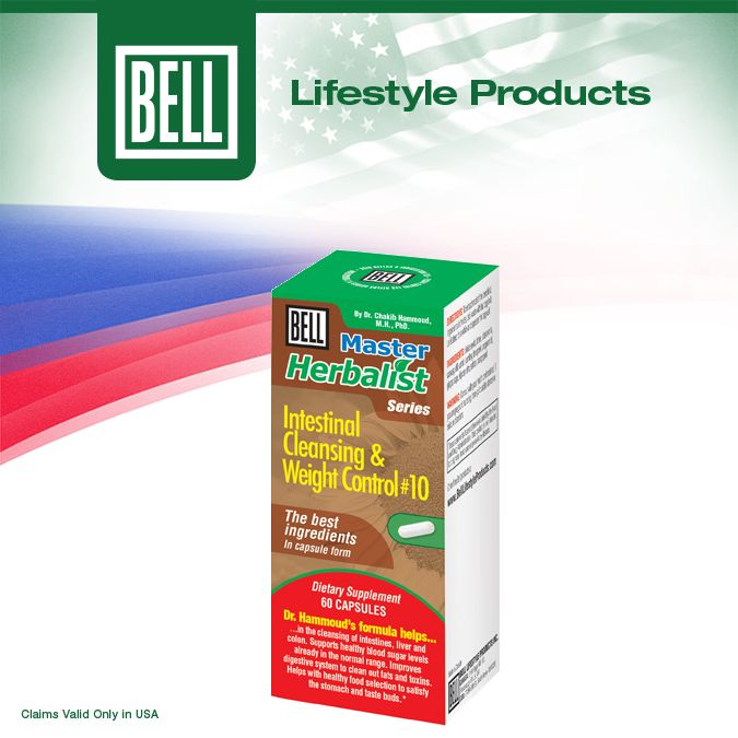In one carefully formulated capsule, Bell Intestinal Cleansing is the perfect nutritional support for your digestive system. Learn more about Bell Intestinal Cleansing on our website today. http://www.belllifestyleproducts.com/10-intestinal-cleansing-formula.htm