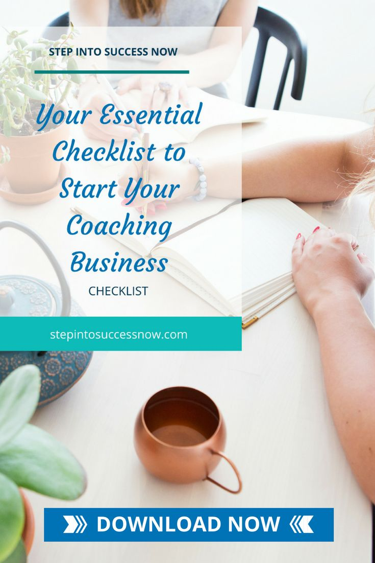 The essential checklist to start your coaching business. Grab your copy now. https://candymotzek.lpages.co/essential-checklist-to-start-your-business/