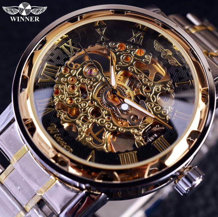 Transparent Gold <b>Watch Men Watches</b> Top Brand Luxury Relogio ...