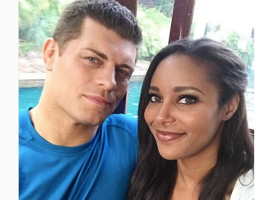 Brandi Rhodes the beautiful wife of professional wrestler Cody Rhodes is among the beautiful ladies of E! new spin-off series Wags Atlanta.