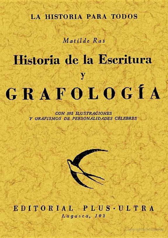 Historia de la Grafología | Matilde Ras
