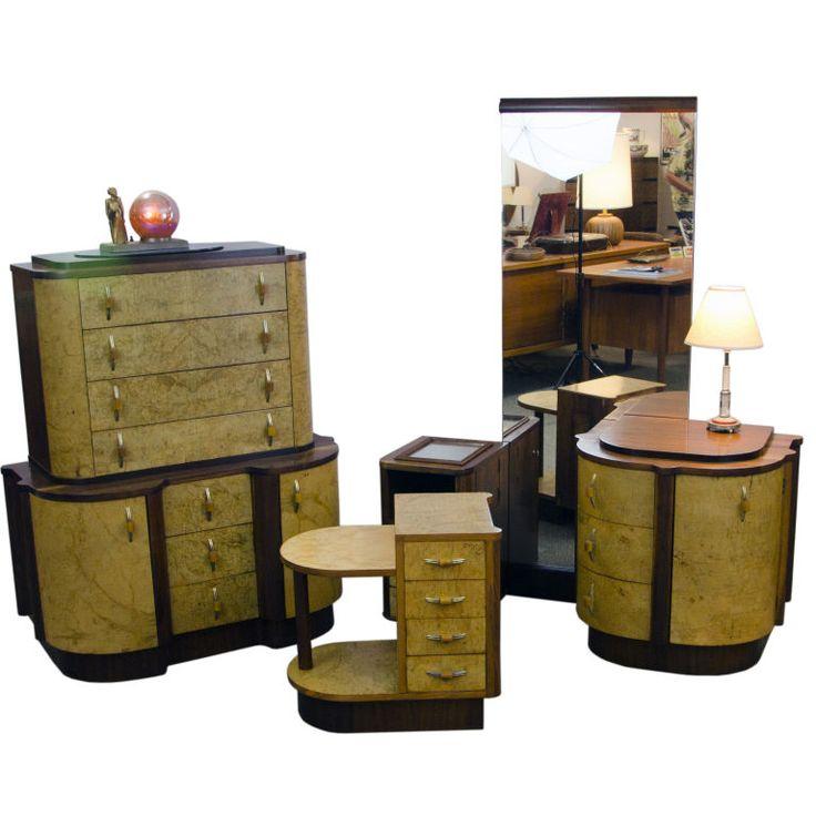 Best Art Deco Bedroom Furniture Images On Pinterest Art Deco