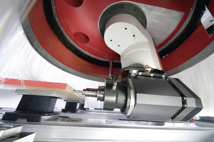 CNC Bearbeitung von Holz mit der BIMA Px80 / E / R- IMA America