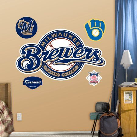 Milwaukee Brewers Logo, Multicolor