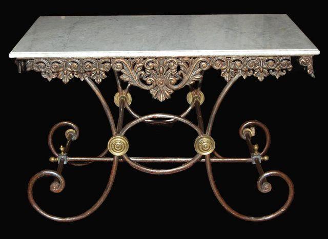 19th Century French Butcheru0027s Table