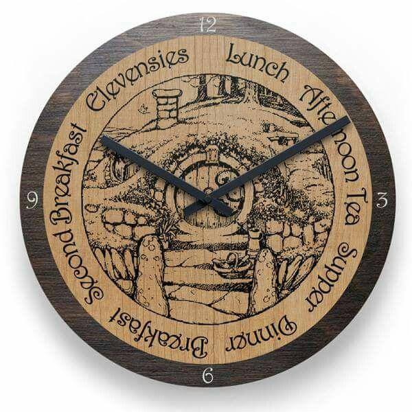 Hobbit Clock!!! I need this!