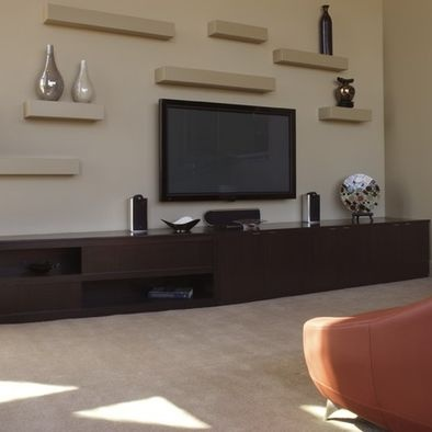 spaces tv wall units design pictures remodel decor and ideas page 16