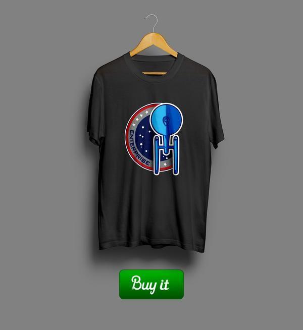 Enterprise | Футболка для тех, кто гордится собой, но не слишком. Рекомендуем надевать для визитов к бабушке и на все семейные праздники: быстро похвалят и быстро отпустят. #warriors #tshirt #Star #Trak #Звездный #путь #fantasy #футболки #Enterprise