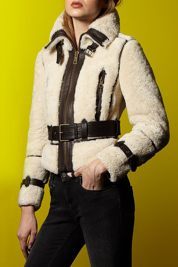 Stylish shearling