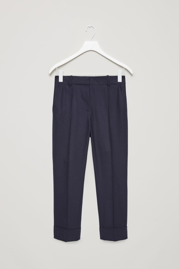 COS   Straight tailored wool trousers