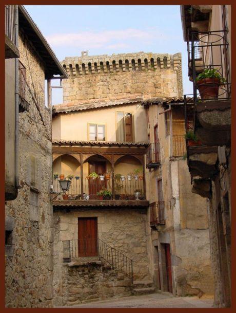 Un bonito rincón en Miranda del Castañar, Salamanca