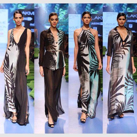 The First Lady of Satya Paul - Gauri Khan at LFW | VIVA-LUXE #Tropical #BollywoodFashion #GauriKhan