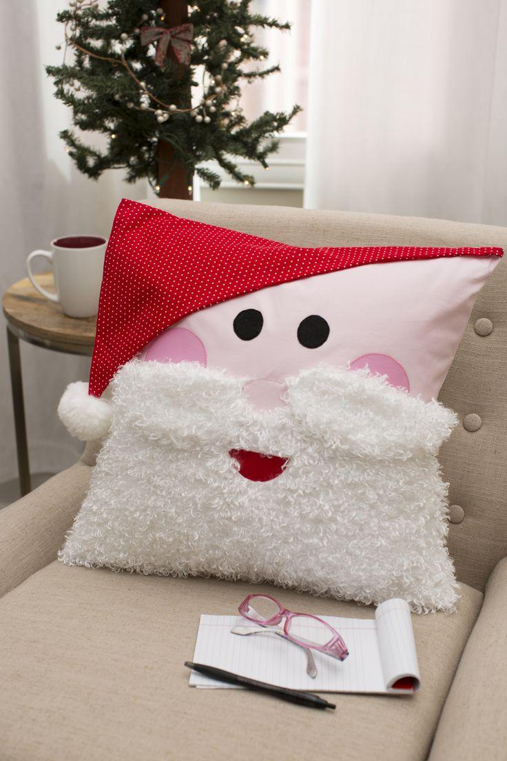 HO HO HO Santa Pillow