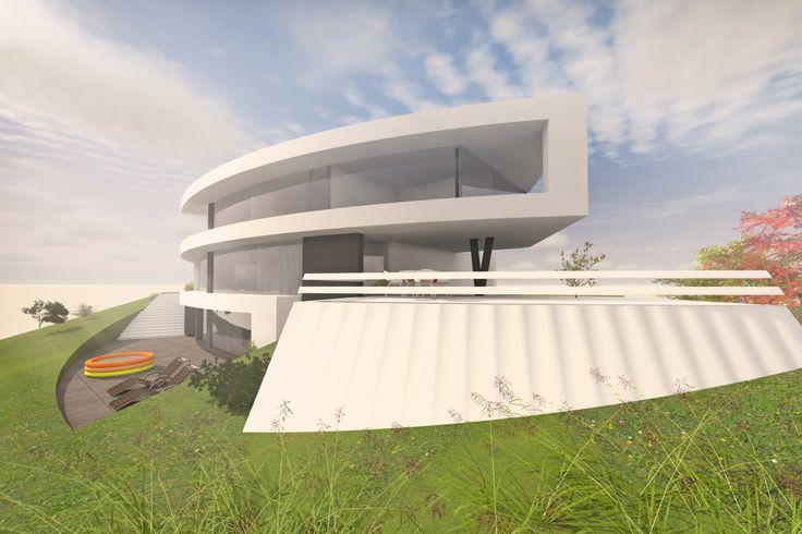 Architektenhaus am Hang in Deggendorf (Niederbayern) bauen