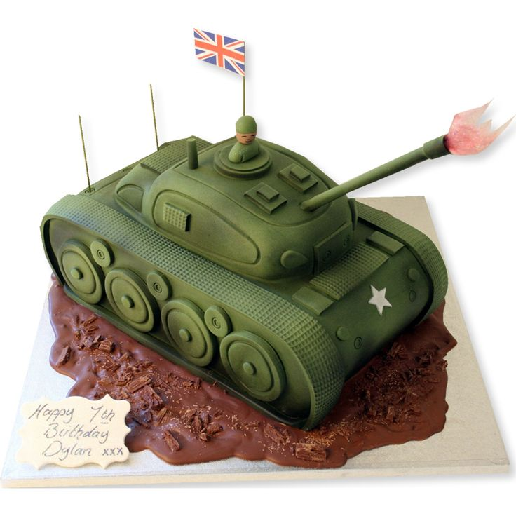 Tank Cake | Birthday Cakes | The Cake Store More
