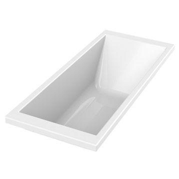 Baignoire rectangulaire Premium design SENSEA, 170x70 cm 199.00€
