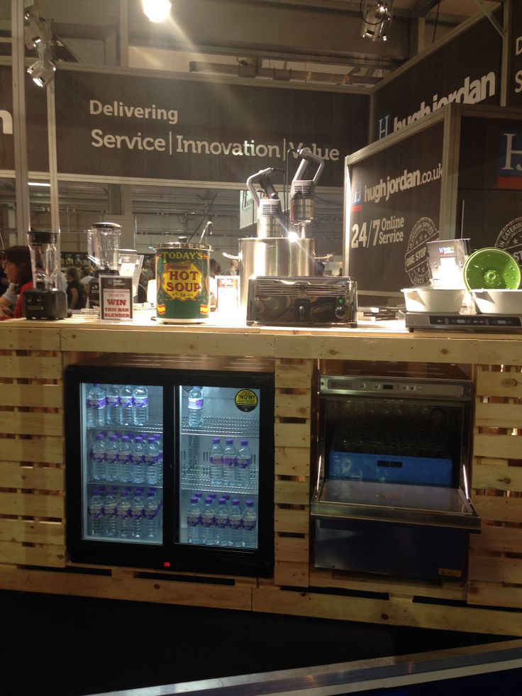 A close up of the equipment station at the recent IFEX show in Belfast