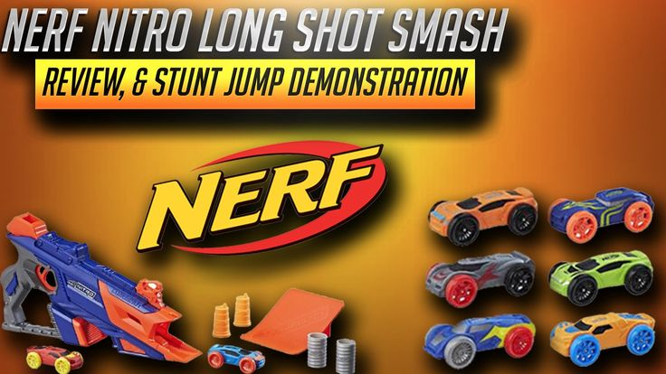 New Nerf Nitro Series LongShot Smash Review, & Stunt Test is the topic of today's New Nerf Gun Videos. Nerf has decided to create a new Blaster Line which actually launches foam cars with plastic wheels. There are 4 sets in total and different car packs you can purchase. This #NerfNitro Review will focus on the #LongshotSmash.
