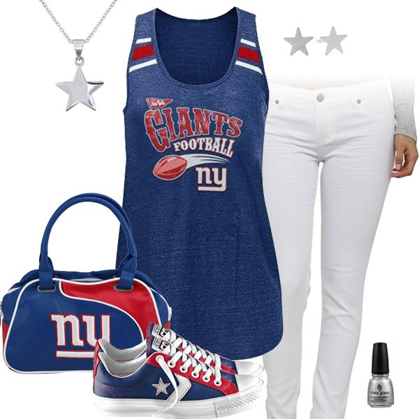 New York Giants All Star Outfit I need this outfit for September!!