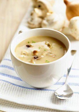Едим вкусно и полезно: Грибной суп -пюре с чечевицей