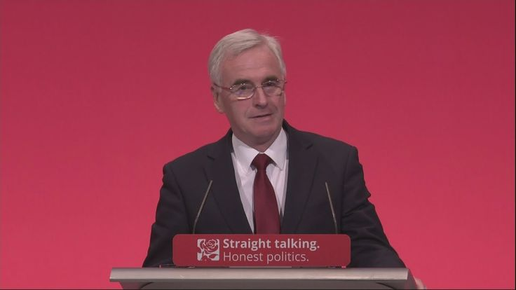 John McDonnell full Labour conference speech