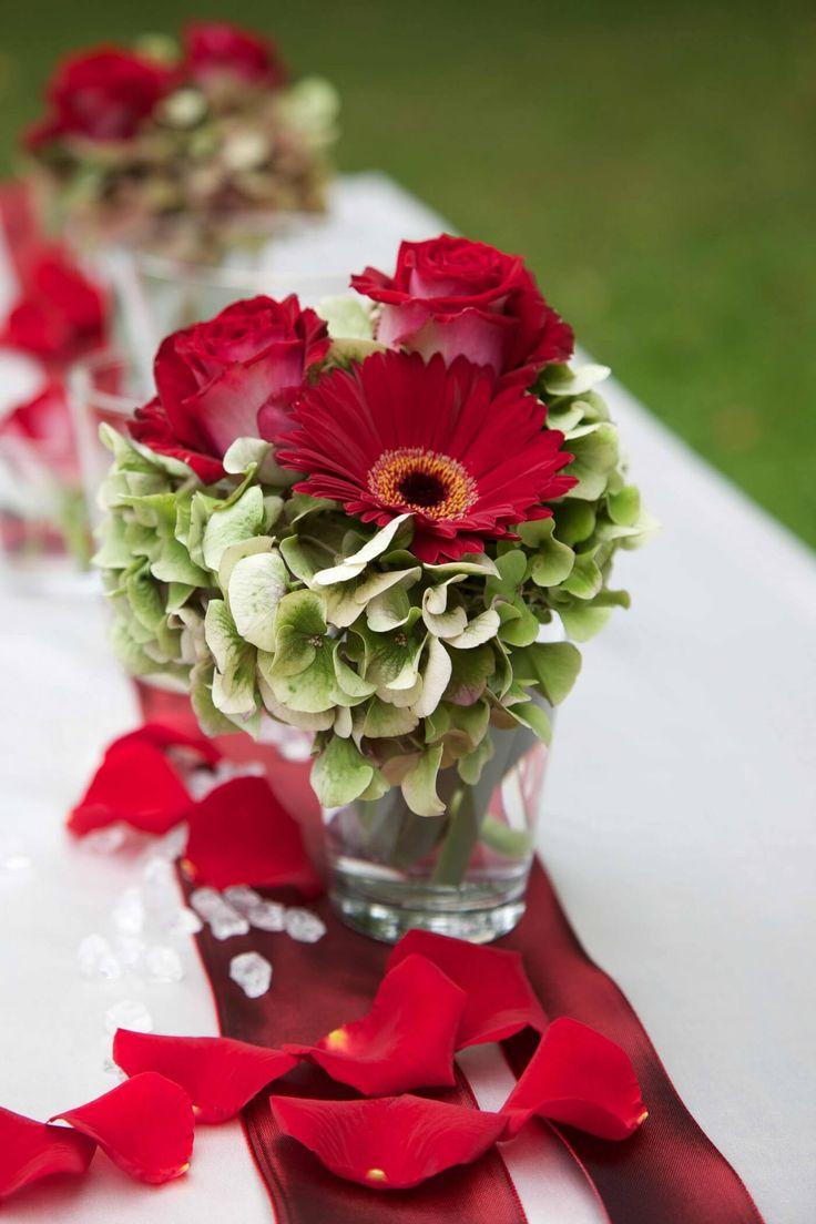 Hochzeit Tischdekoration Blumen