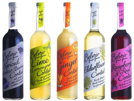 Belvoir Cordials for pimp your prosecco