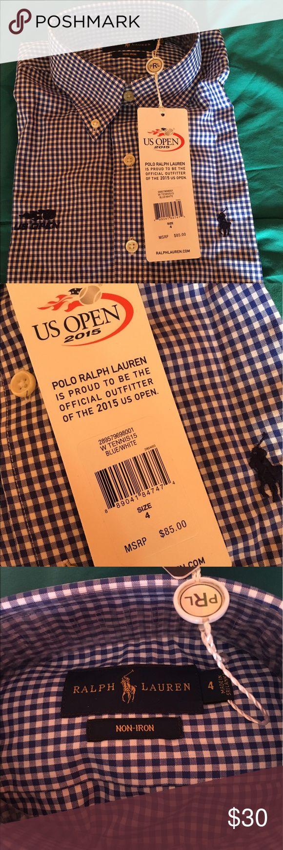 RALPH LAUREN POLO SHIRT BRAND NEW ❗️RALPH LAURN POLO SHIRT❗️WOMEAN SIZE 4❗️ Polo by Ralph Lauren Tops Button Down Shirts