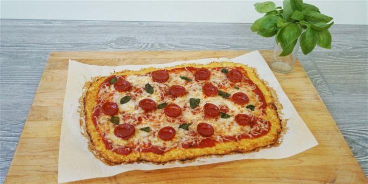 Wir haben den einfachsten Weg gefunden, eine kohlenhydratarme Pizzakruste mit Blumenkohl zuzubereiten   – Recipes to try