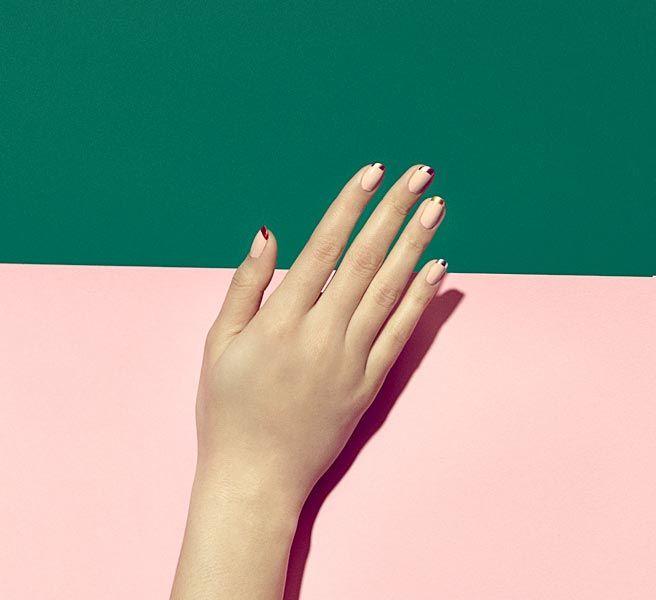 Grown Up Nail Art - Paintbox Nail Studio - Elle