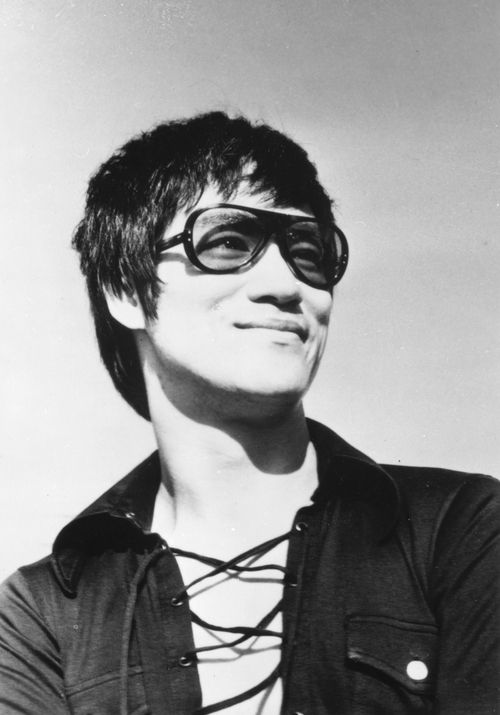 Bruce Lee...one of the most inspirational people I've learned about in my lifetime thus far....in my opinion.