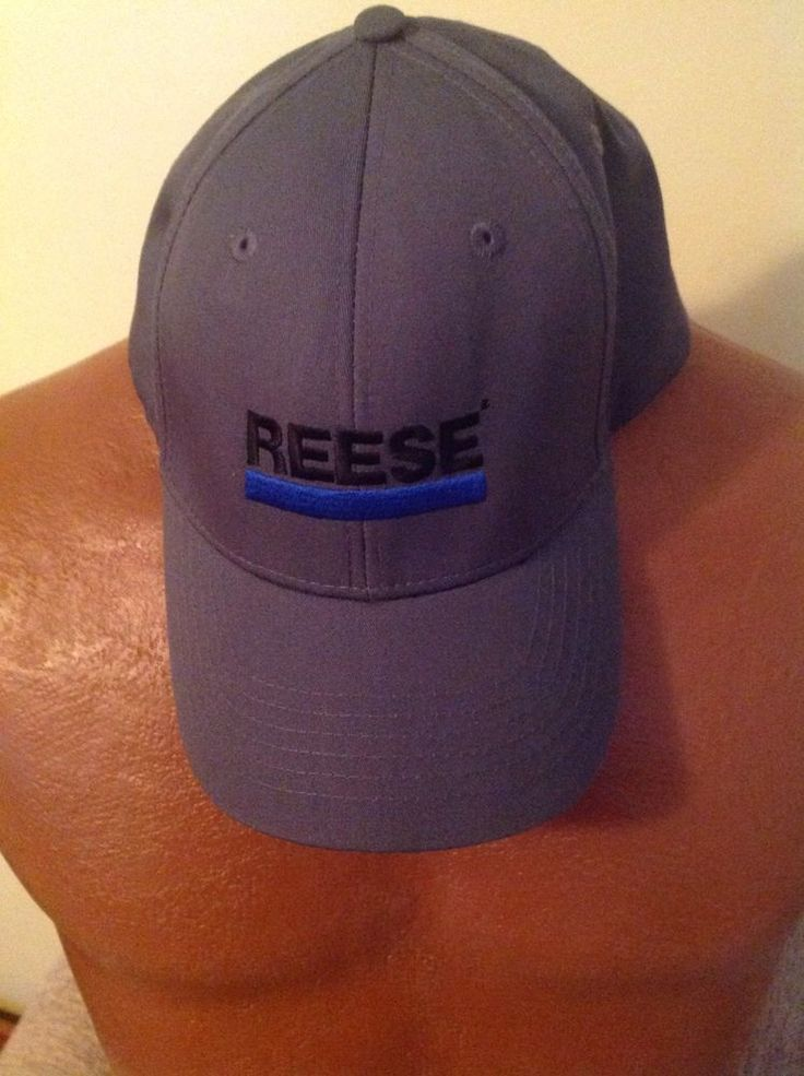 Reese Trailer Hitch Men's Baseball Hat Cap Gray Adjustable  #Headmost #BaseballCap