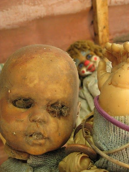 The Mexican Island Haunted by Evil Dolls. @Faith Bigler and @Amae Levi WE ARE GOING HERE TOGETHER