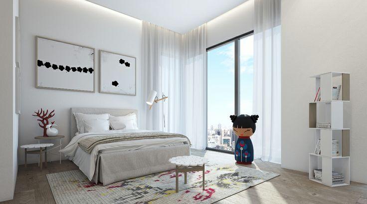 LuxuryHome Design White bedroom scheme