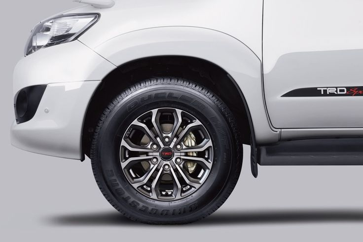 New Toyota Fortuner 2.5 G TRD Diesel front,Rear Look