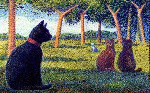 """Gianantonio Muratori - """"Seurat's Cats"""""""