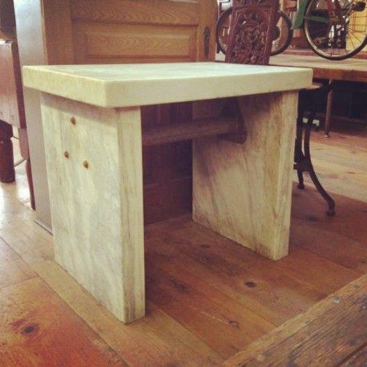 Antique Marble Balance Table ~ #antique #marble #table #home *JoJou0027s Place