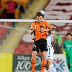 Brisbane Roar FC play Kashima Antlers in Asia Cup match