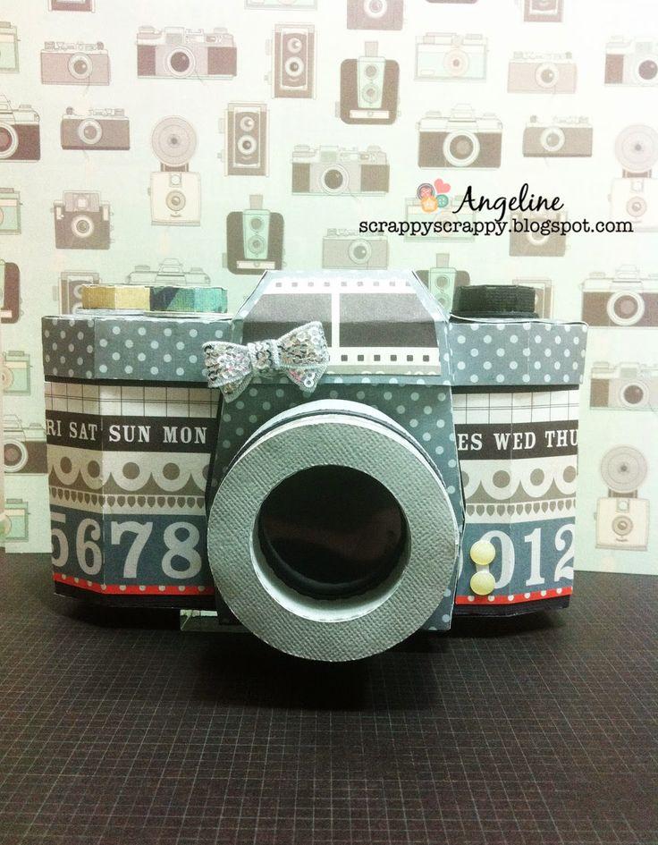 3D Vintage Camera svgcuts