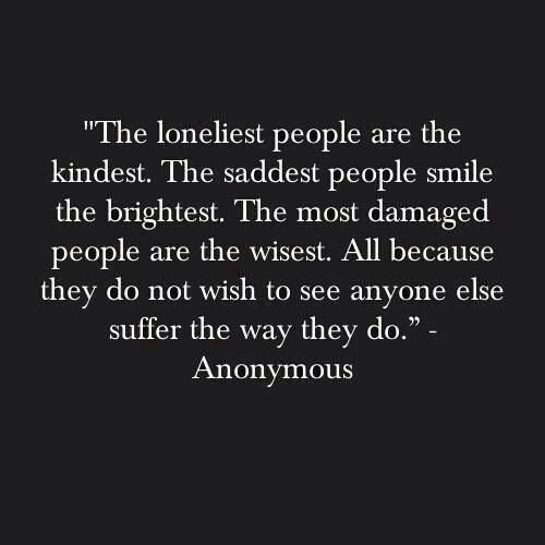 All because they do not wish to see anyone else suffer the way they do.